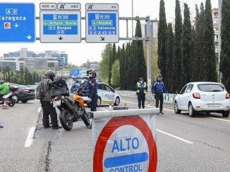 """Какой транспорт сможет ездить, если будет ужесточение """"estado de alarma"""""""