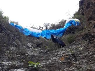 Тенерифе: при падении в Garachico погиб парапланерист