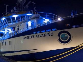 """Судно """"Ángeles Alvariño"""" продолжит после ремонта поиски тел в океане"""