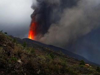Газы вулкана с La Palma прибудут сегодня на острова Tenerife, El Hierro и La Gomera