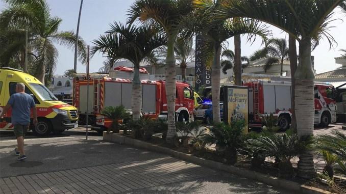 Las Verónicas: в воскресенье упала пальма, есть пострадавшие
