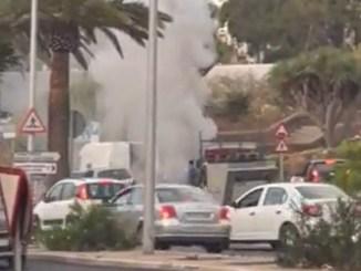 Тенерифе: похоже, автомобили чем-то заразились, сегодня снова есть сгоревшие