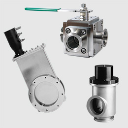 High Vacuum Valves