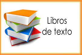 Relación de libros de texto para Bachillerato