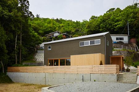 丘の家concept