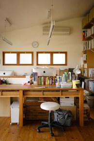 こちらがリク君の勉強スペースです。