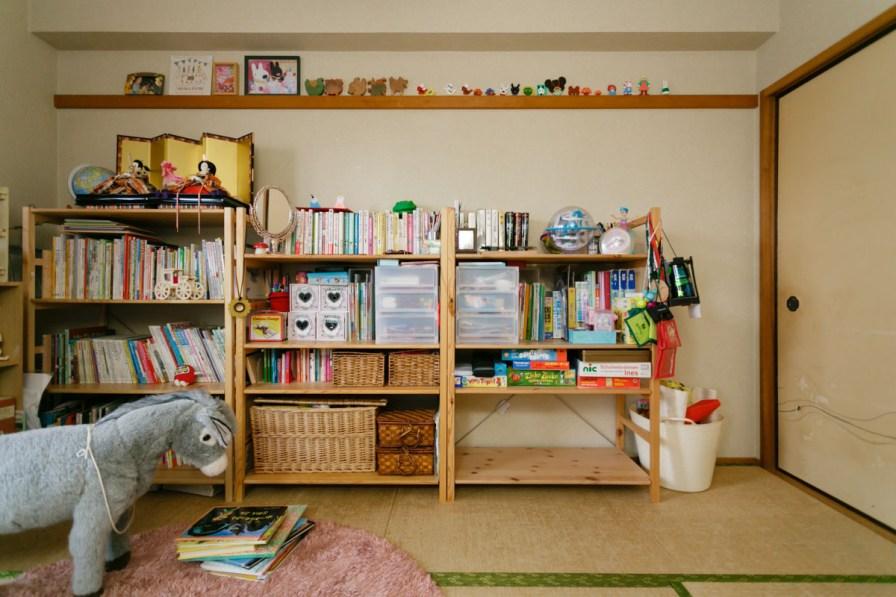 子供部屋でもあり、本の部屋でもあり。大切な場所です。