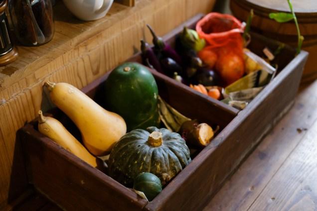 この野菜、見て見て。可愛らしい!
