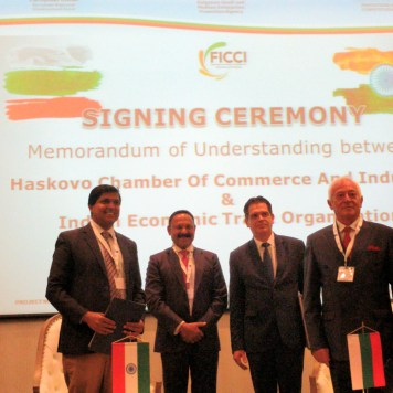 MOU for India Bulgaria Trade