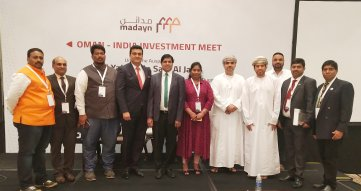 India Oman Investment meet delegation of IETO