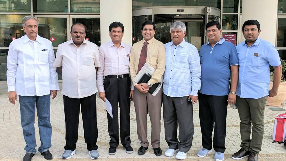 Chief Minister of Karnataka Delegation to Israel