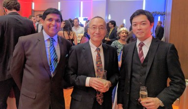 With the Japanese Consul and Vice Consul General