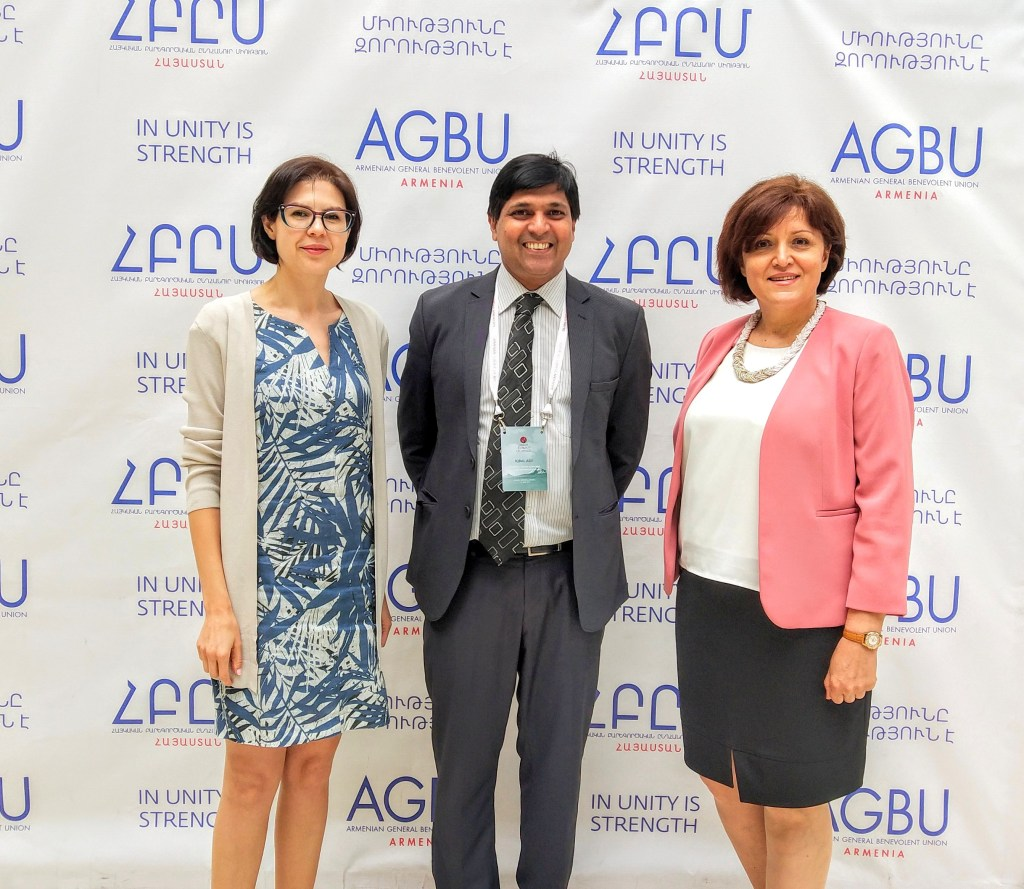 Delegates of the AGBU in Armenia