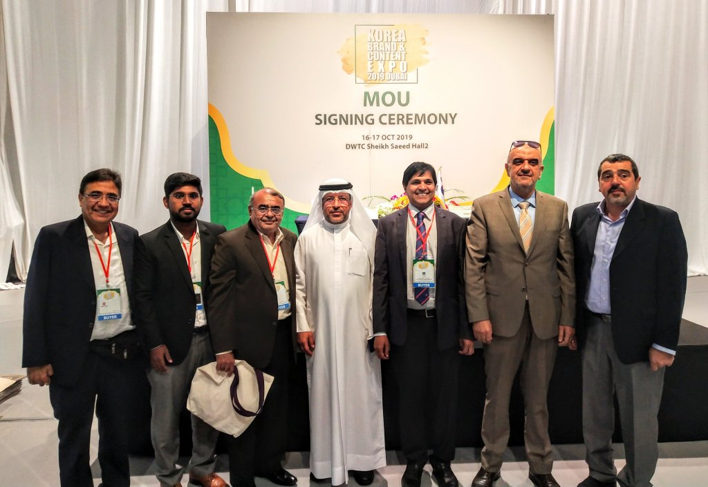 MOU Signing in UAE with South East Asian Federation
