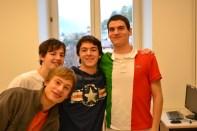 Friends in Italy