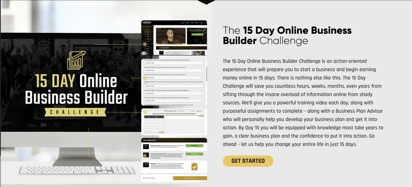 15 Days Business Builder Challenge