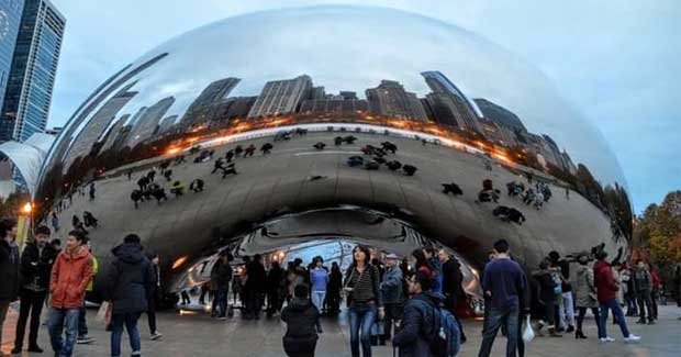 The 3 Best Places to Visit In the U S   According to Three Au Pairs     The Bean in Chicago