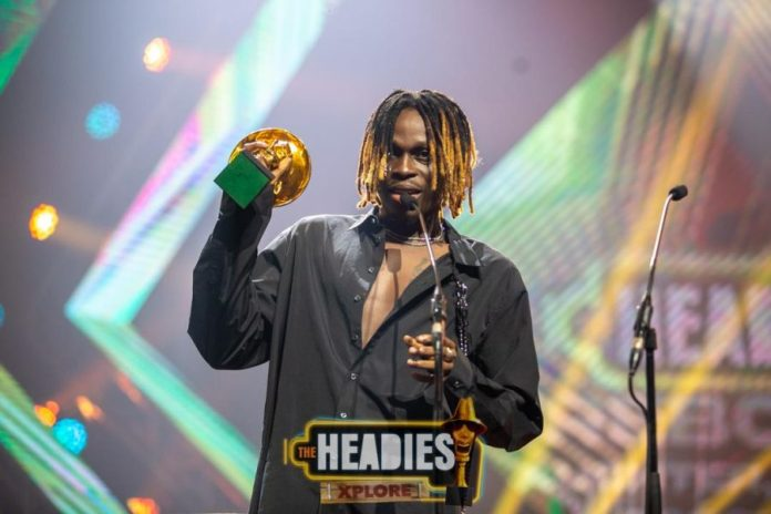 Image result for See Don Jazzy Reaction As Fireboy Takes 4 Awards