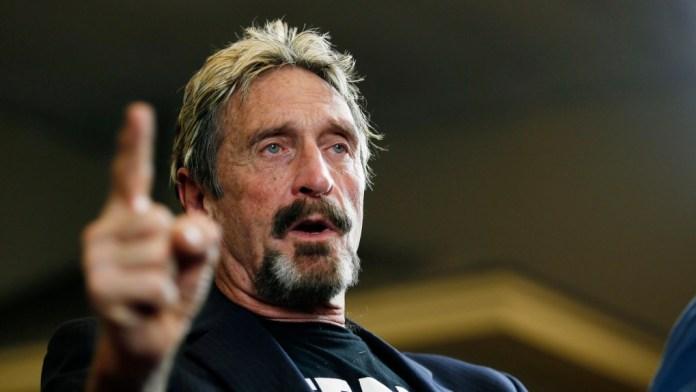 Antivirus Pioneer John Mcafee Discovered Dead In Spanish Jail
