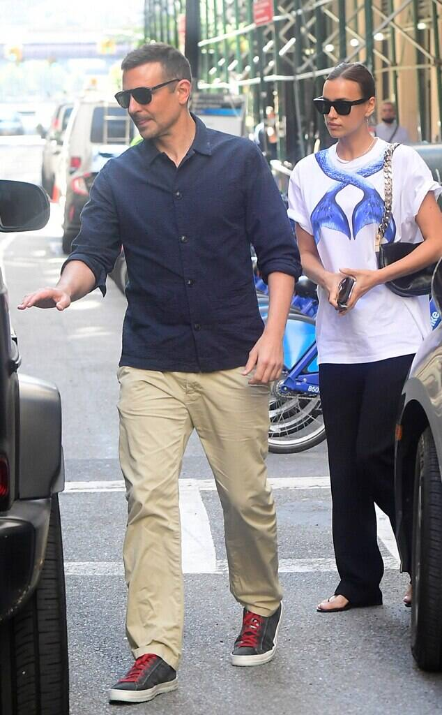 Irina Shayk Gets Out With Ex-Bradley Cooper