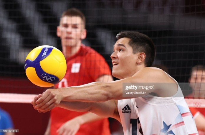 The USA's Micah Christenson in action in a men's preliminary round... News  Photo - Getty Images