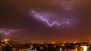 11 Persons Have Died As A Result Of Lightning Strikes In Northern India.