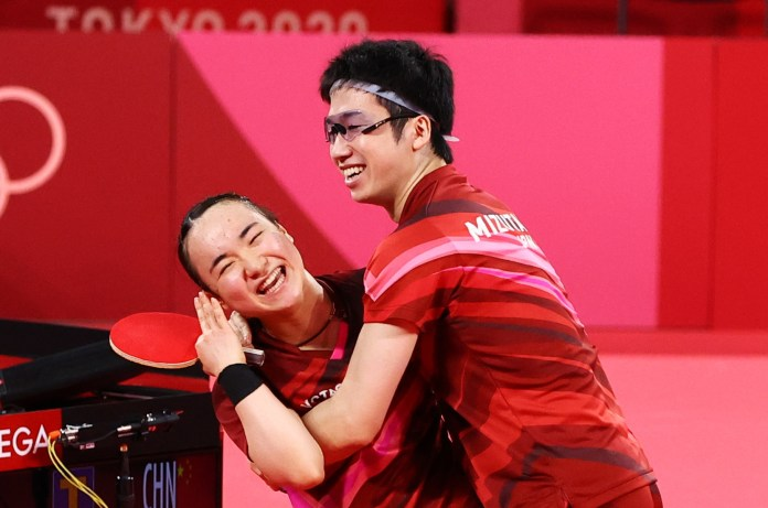 Table Tennis-Japan's Mizutani and Ito clench first Olympic gold | Reuters