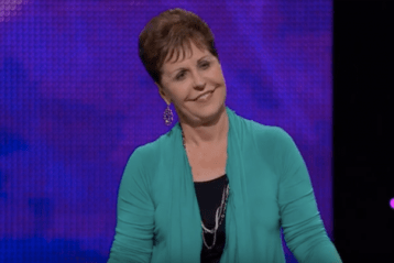Joyce Meyer says her 2-y-o great-grandson healed his mom with prayer