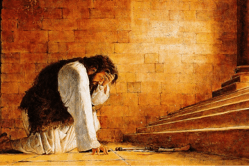 "Attacking God in your ""Darkest Hour"""