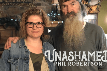 Newly found daughter of Phil Robertson speaks out, says God's grace extended to her