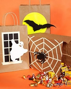Homemade Trick or Treat Sacks creative halloween craft ideas