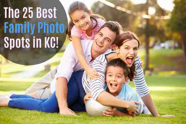 best family photo and family portrait places in Kansas City