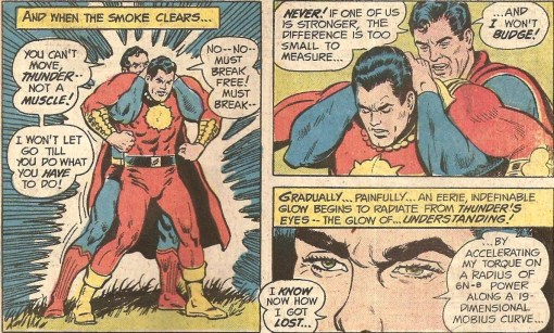Image result for superman captain thunder