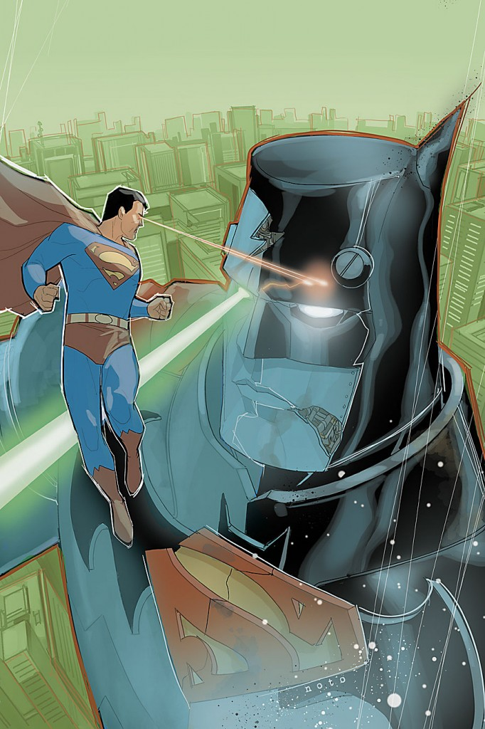 Image result for batman/superman robot