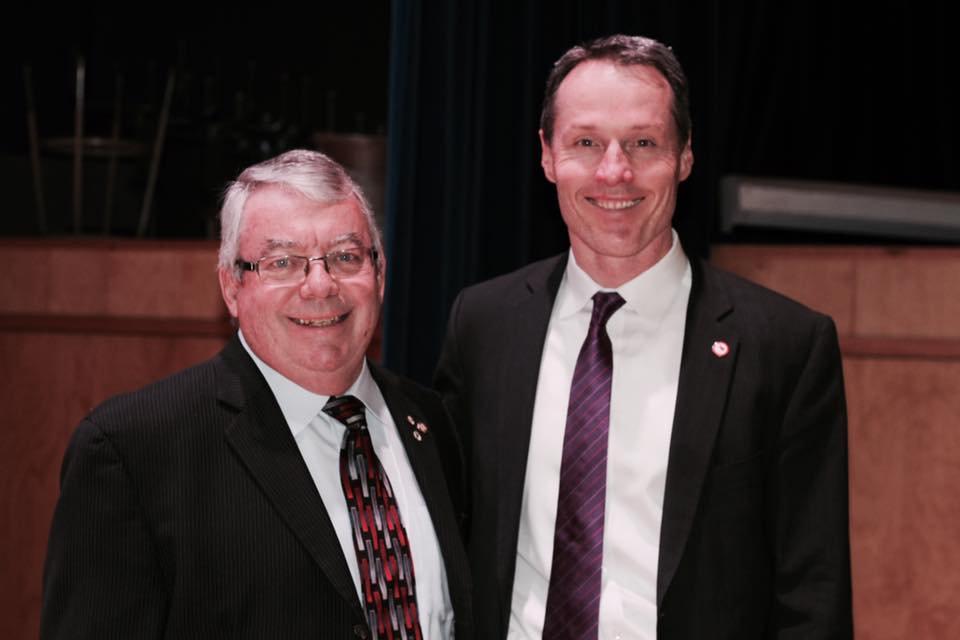 David Legg & Bob Steadward