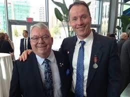 Bob Steadward and David Legg