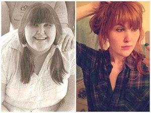 21 فتاة تغير شكلهن بشكل مذهل بعد فقدان الوزن !19
