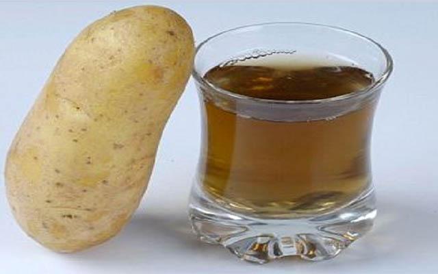 عصير البطاطس