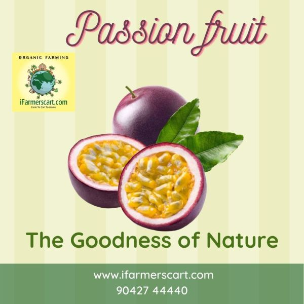 fresh passion fruit image
