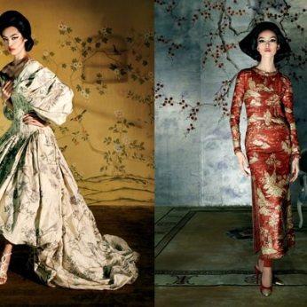 Alexander McQueen 2006 / Chanel Haute Couture 1996