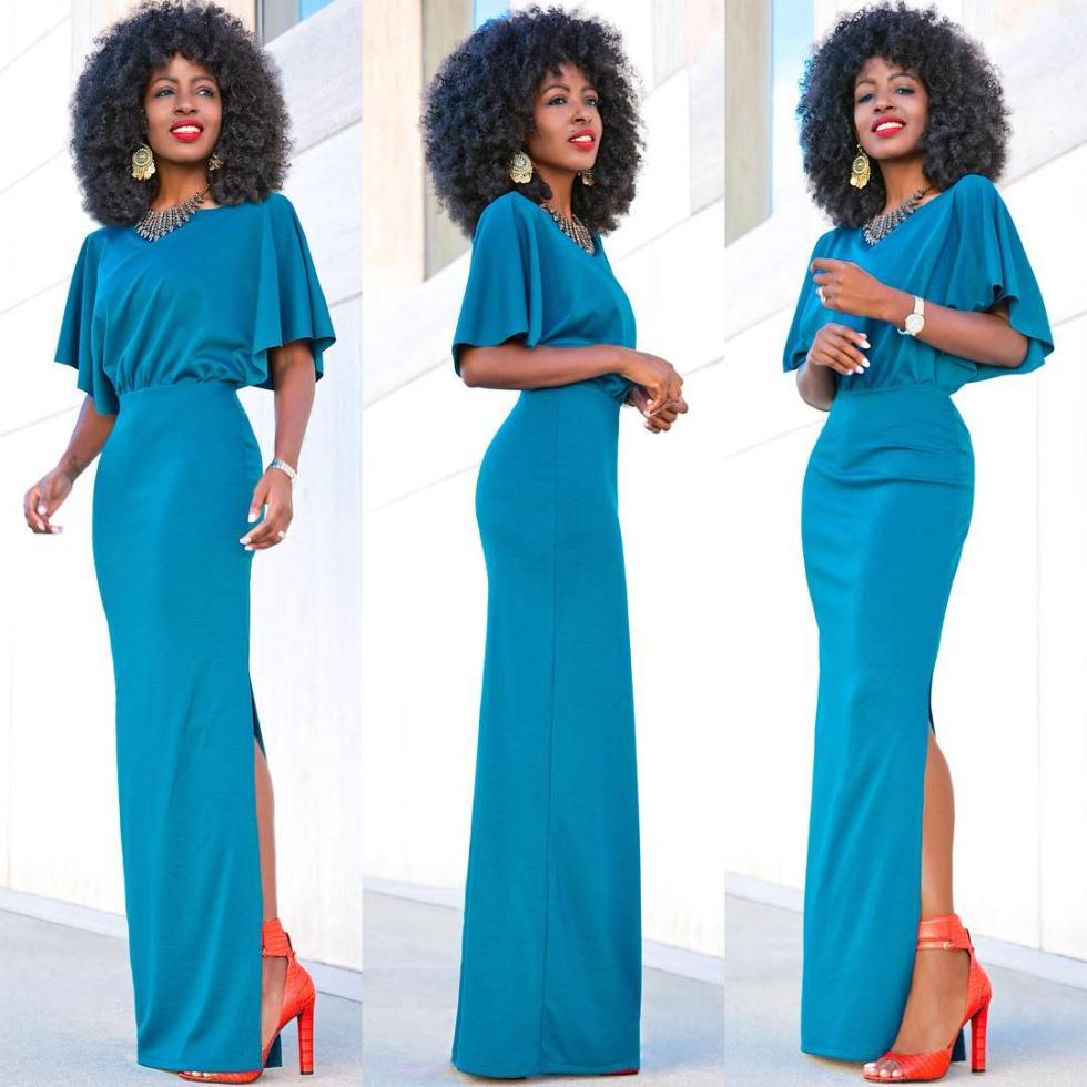 Look 3: Folake Hutoon