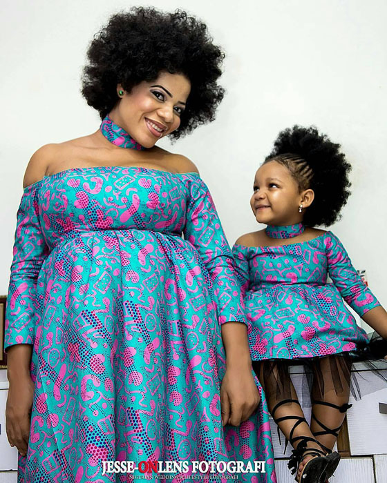 Adorable African Ankara And Kitenge Maternity Gowns