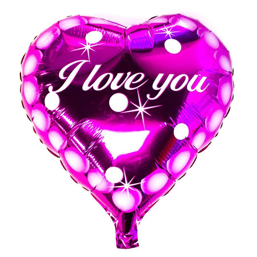 Wholesale 18 Valentines Day Heart Shaped Helium Foil