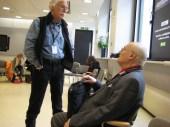 IFC 2012 London - Chis Brookes (l), John Theocharis (r)