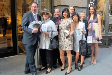 The IFDA NY Chapter held its 2013 Take A Seat action and gala at Lillian August in NYC.