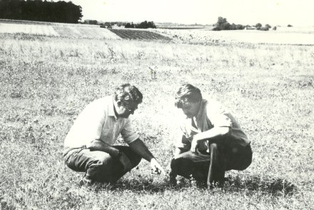 1993 - IFDC scientist conducts sustainable agriculture study in Uruguay