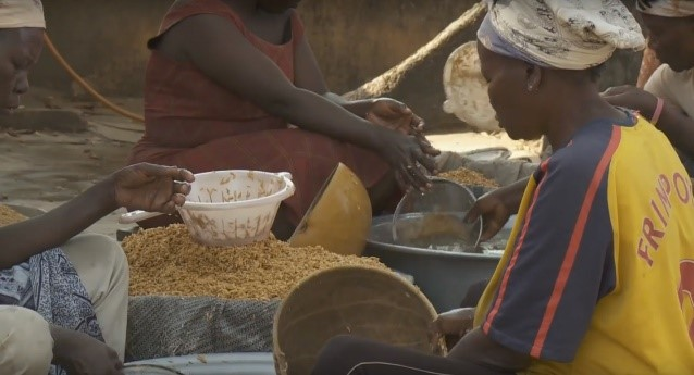 rice Benin women and wages
