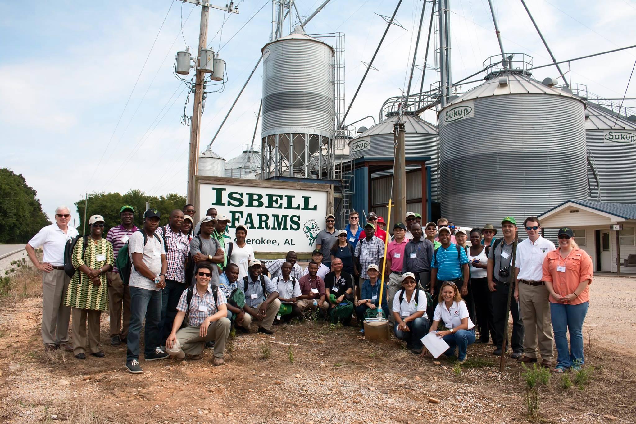 Outside of Isbell Farms, Cherokee, Alabama.