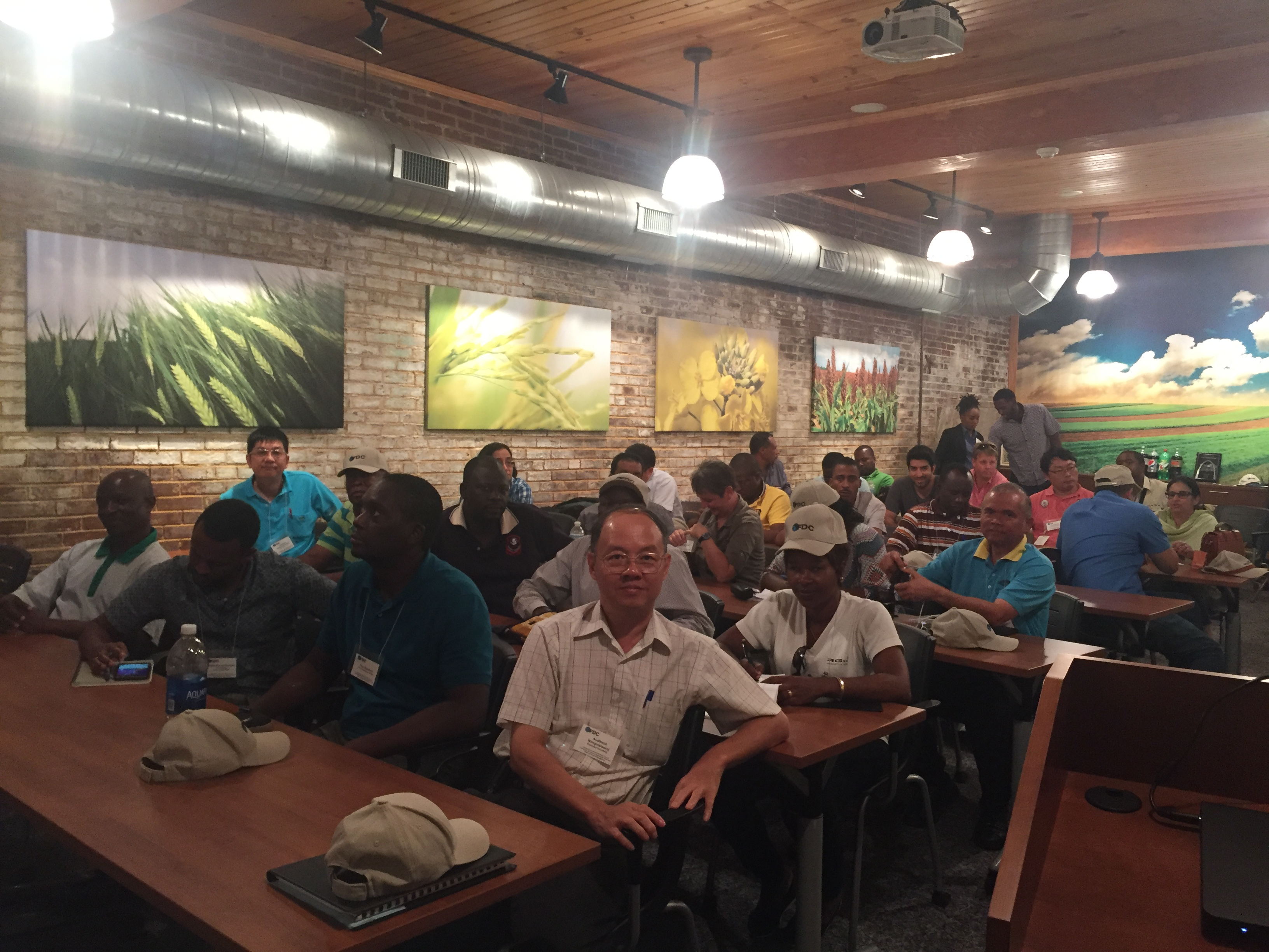 Lange-Stegmann Company in St. Louis, Missouri hosted attendees for a training session.