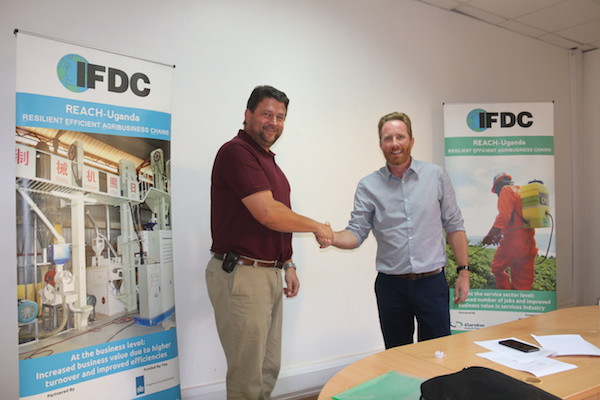 IFDC REACH-Uganda Project Signs Up First Commercial Partner